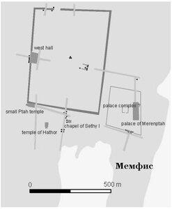 Мемфис, столица древнего Египта