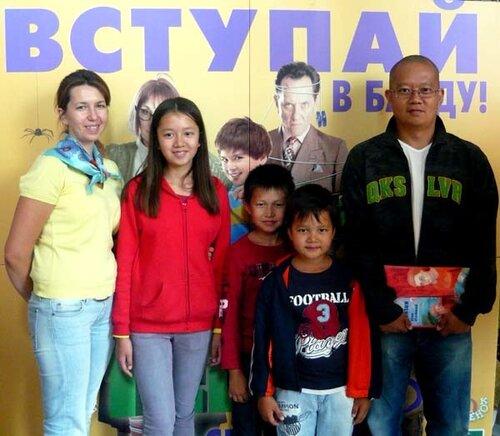 к/т Победа, детский праздник, 03.09.2011