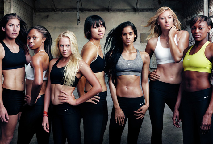 Рекламная кампания Nike Women - Make Yourself/Сделай себя