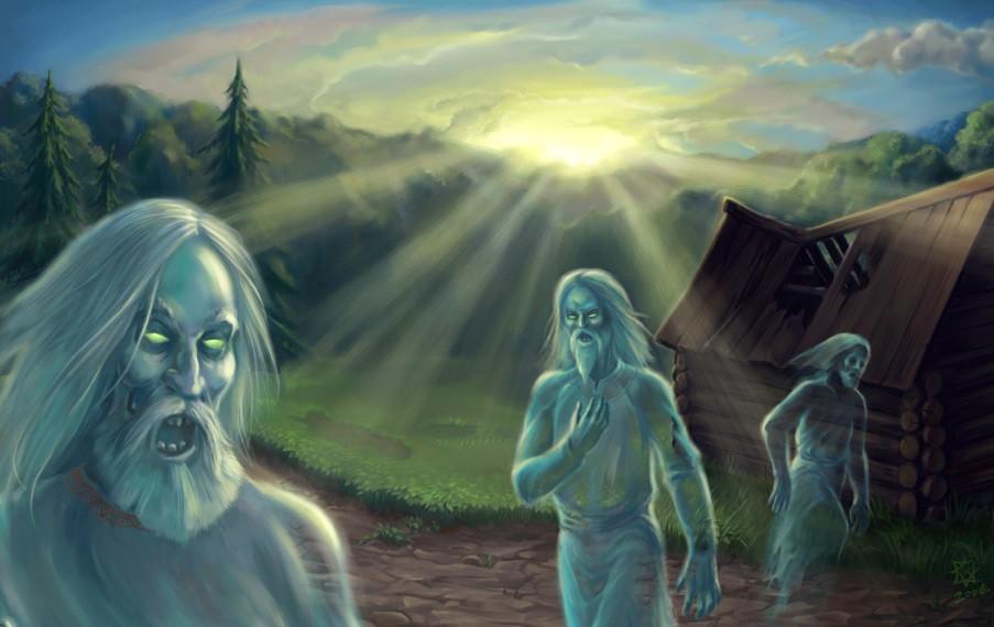 Злыдень — злой дух, приносящий нищету дому, в котором поселился. Данные духи находятся в подчинении