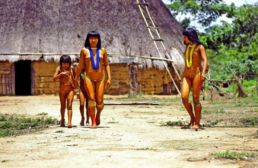 фото аборигены голые