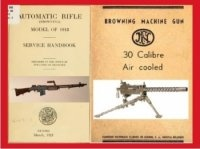 Книга Automatic Rifle (Browning) Model of 1918. Service Handbook. Browning Machine Gun .30 Calibre. Air Cooled.