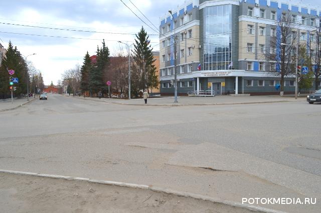 В Йошкар-Оле появится диагональный пешеходный переход