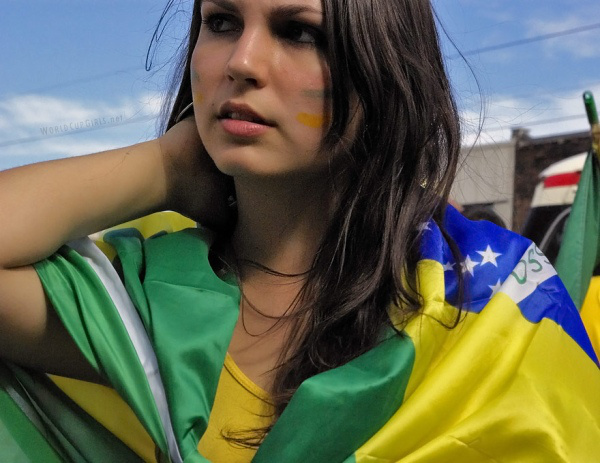 бразильские болельщицы
