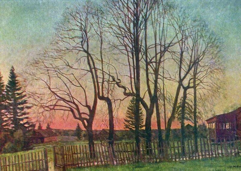 К. Юон. 1935 Начало весны. Х., м. 93х133. Кишинев