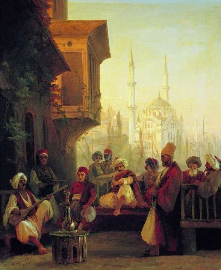 Айвазовский Иван Константинович. Восточная сцена. 1846