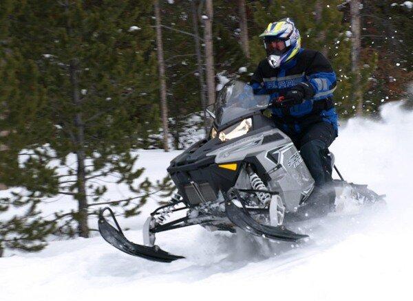 Обзор снегохода Polaris 800 Switchback 2012 модельного года