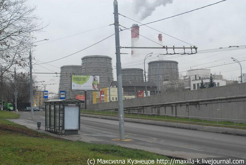 Московские дымы