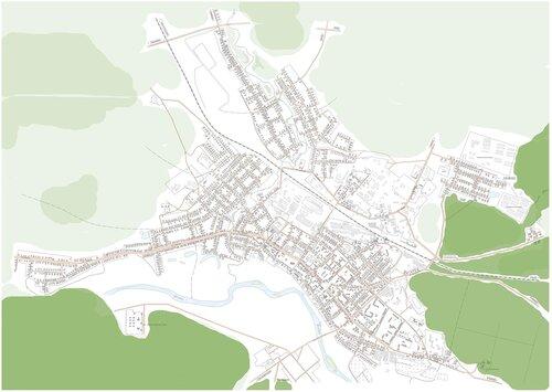 Карта Катайска (План Катайска)