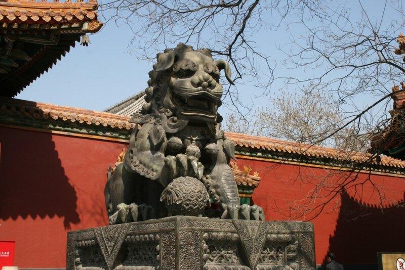 Ламаистский Храм Юнхэгун, второй двор