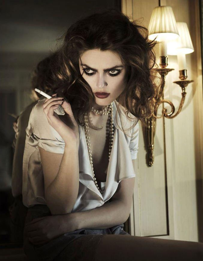 модель Софи Вламинг / Sophie Vlaming, фотограф Boris Ovini