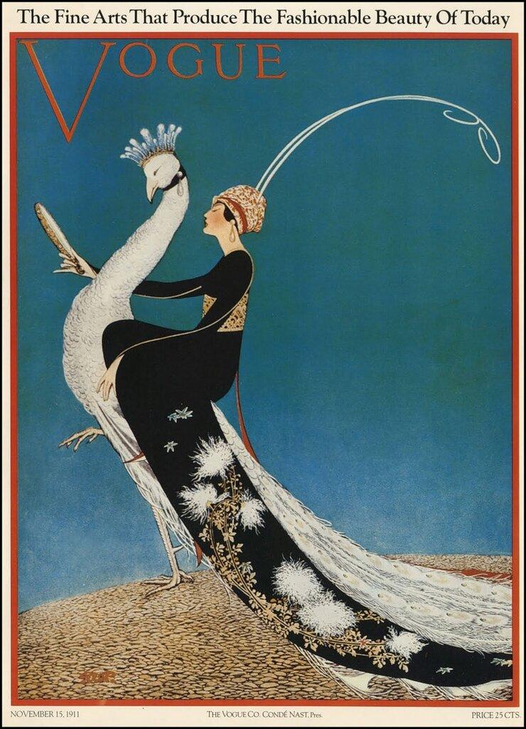 George Wolf Plank Vogue 1911-11-15