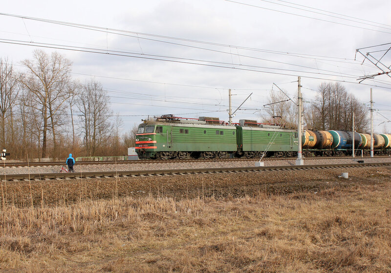 ВЛ10-1722 на станции Колпино