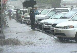 Штормовое предупреждение объявлено сегодня в Приморье из-за надвигающихся ливней
