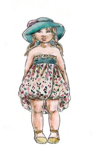 Детские товары.  Эскизы детской одежды.  20 фев 2012.