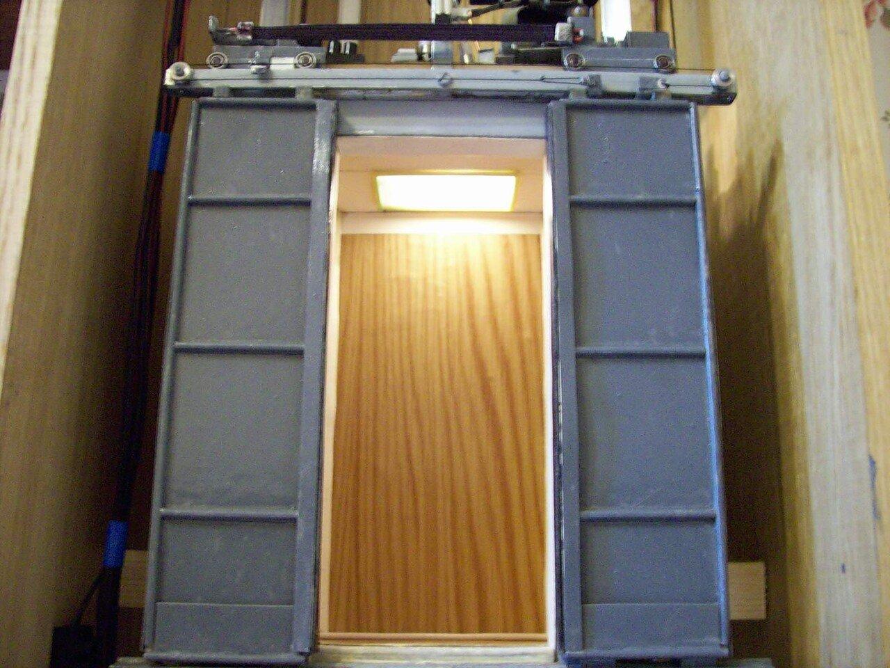 Как сделать двери лифта