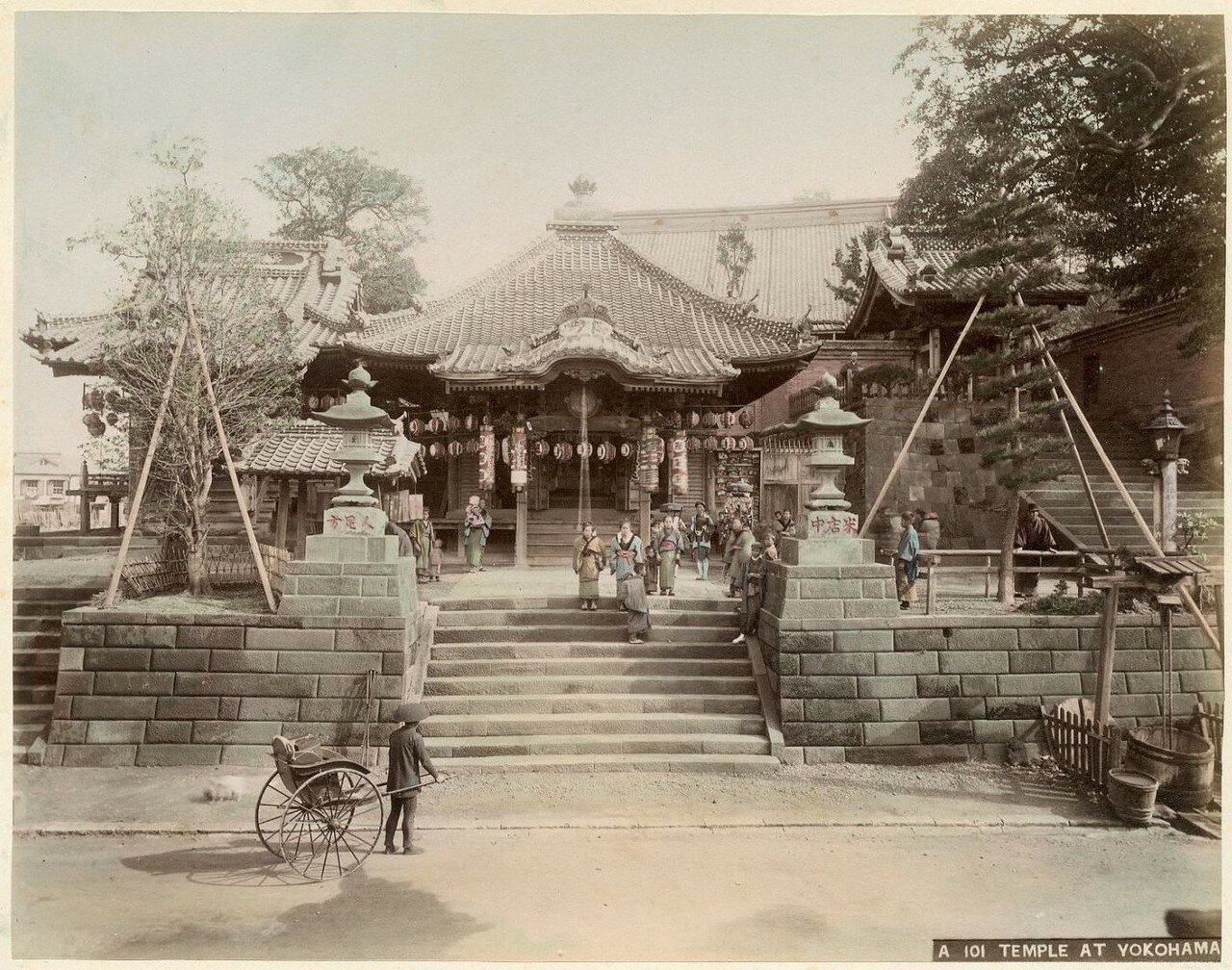 Иокогама. Храм