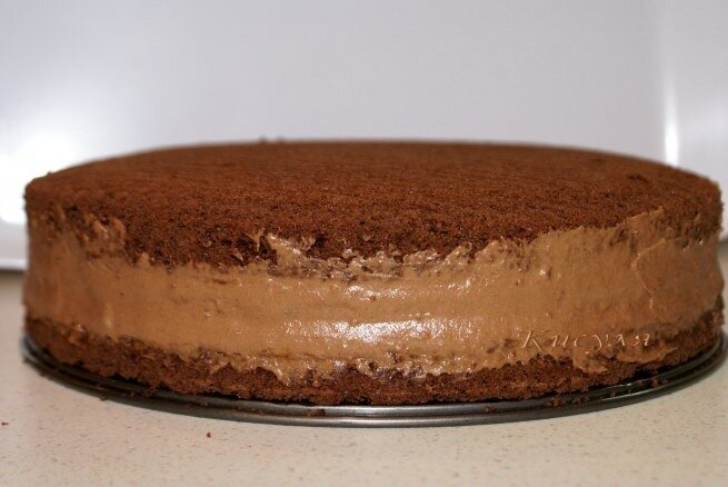 шоколадно-кофейный торт