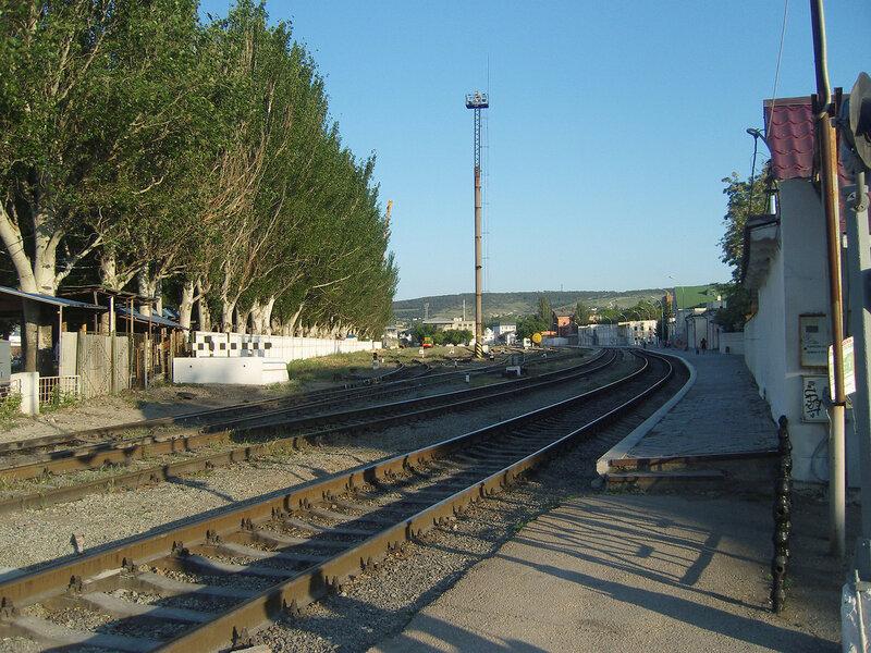 ж/д станция Феодосия