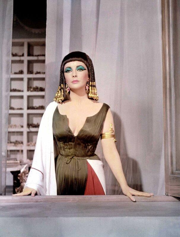 Фильм «Клеопатра» (1963 г). Гламур в египетском стиле. 603659a