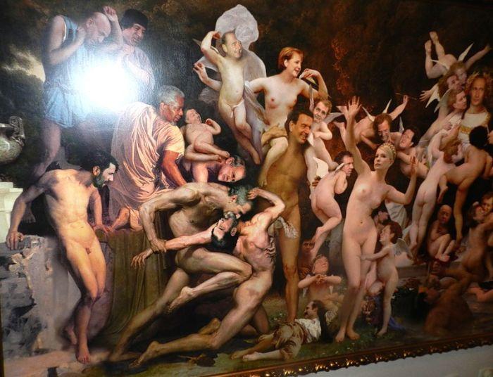 Содом и Гоморра с известными лицами