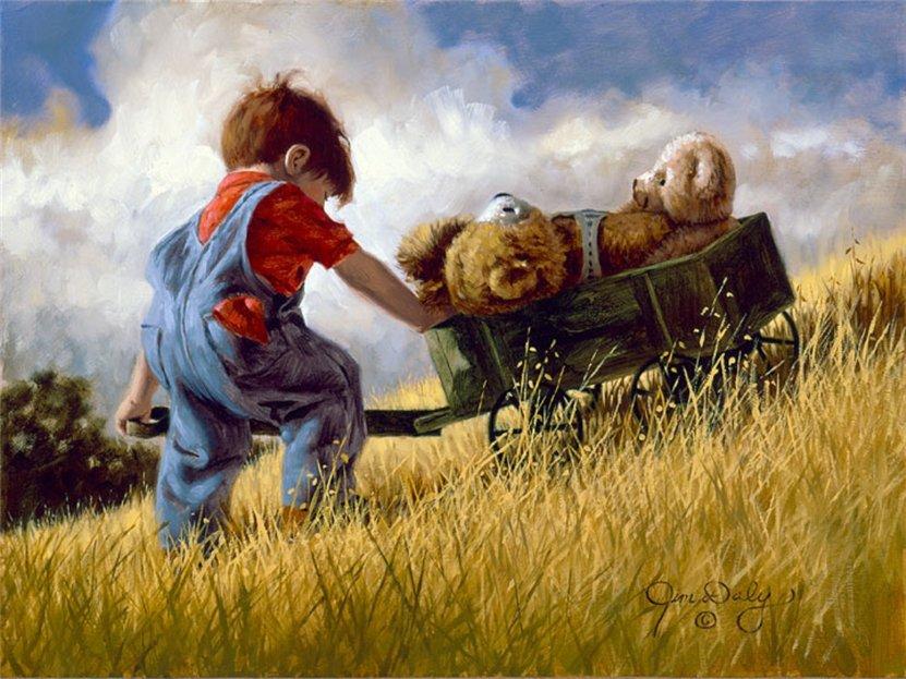 Счастливое детство Jim Daly