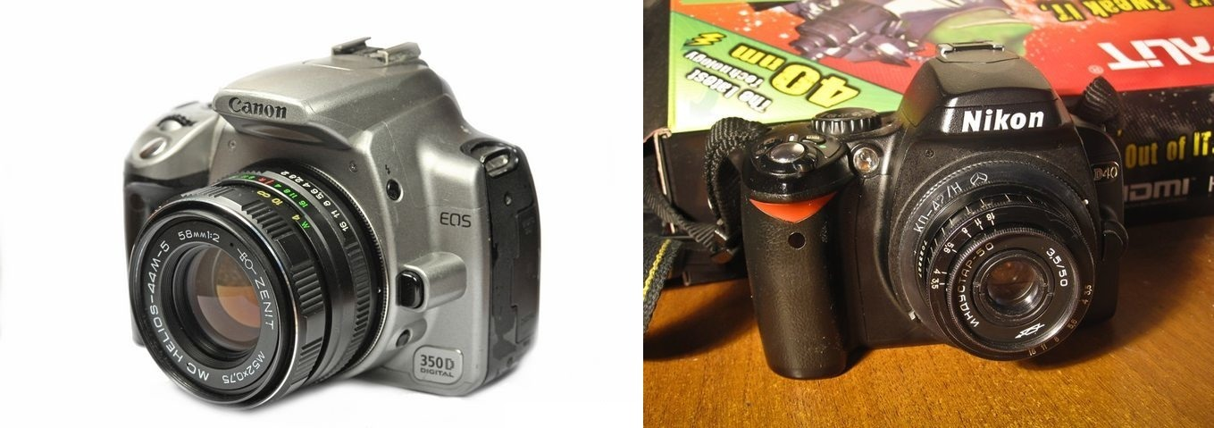 Советская оптика на цифровых фотоаппаратах