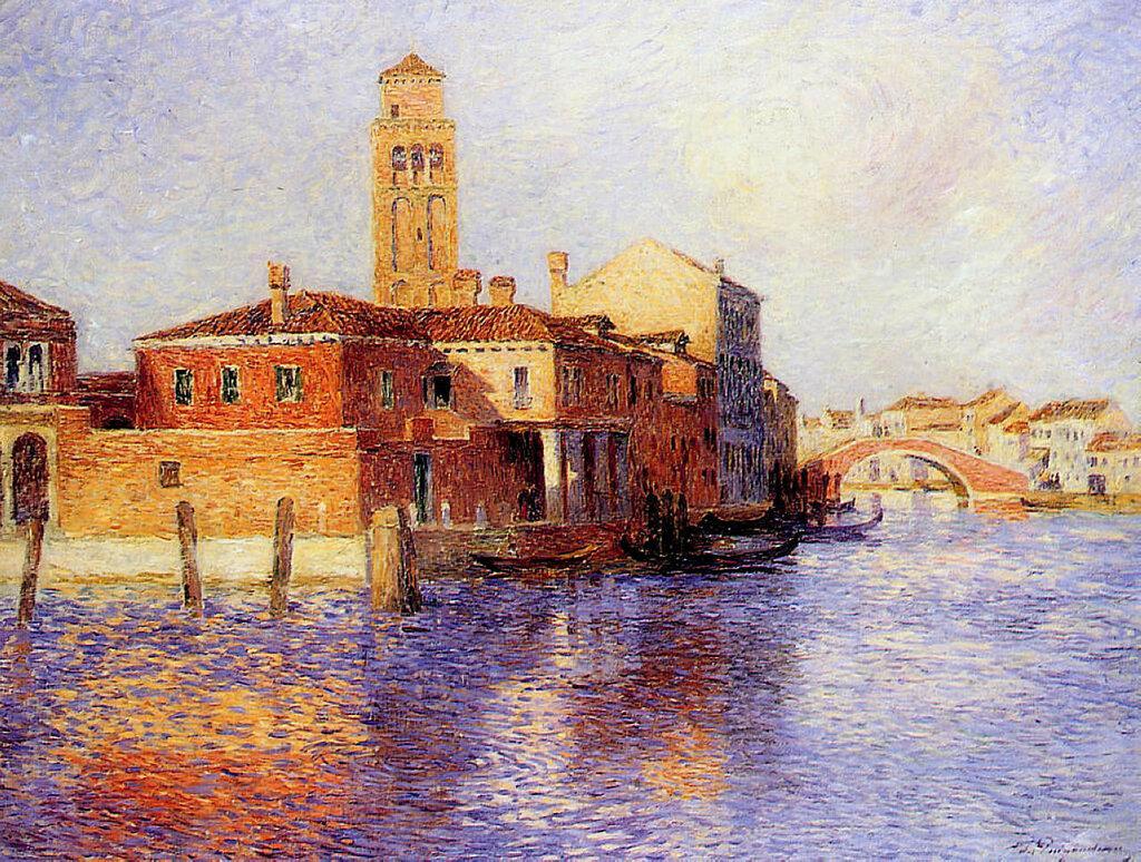 Ferdinand du Puigaudeau - View of Venice (also known as Murano), 1904.jpeg