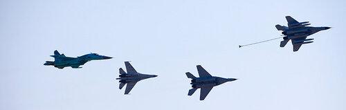 Эскадрилья боевых самолетов