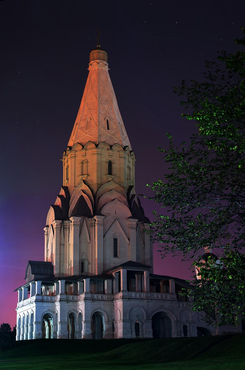 Церковь Вознесения Господня в Коломенском — православный храм Даниловского благочиния Московской епа