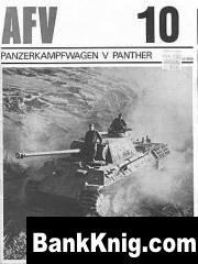 Книга Profile - AFV-Weapons Profiles. #010. PanzerKampfWagen V Pan pdf  4,22Мб