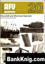 AFV Weapons Profile 20 Churchill and Sherman Specials pdf 28Мб