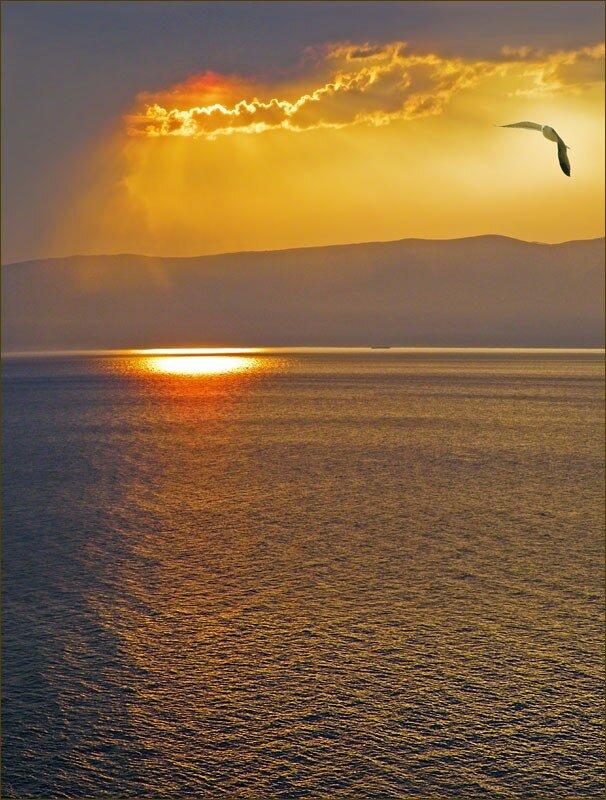 Байкал с высоты птичьего полёта