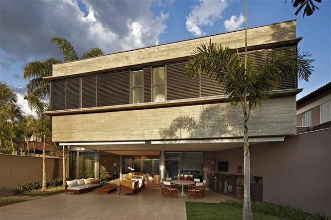 Особняк в Белу Оризонти от Anastasia Architects