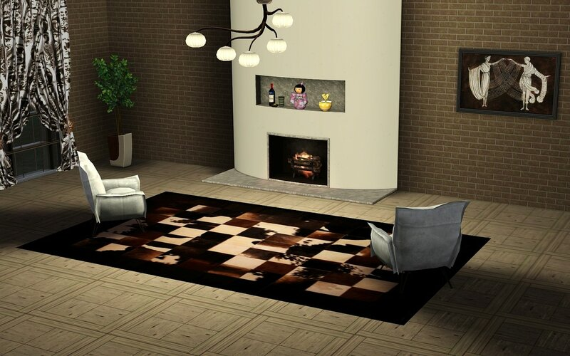 Rugs Fur Mosaic(TS3) by ihelen