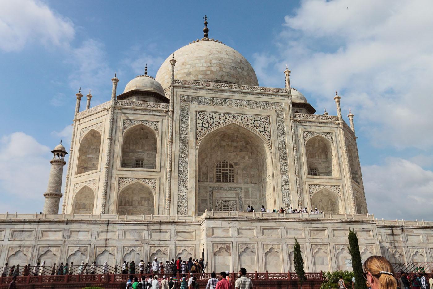 Фото 14. Мавзолей-мечеть Тадж Махал в городе Агра. Отзывы туристов об отдыхе в Индии