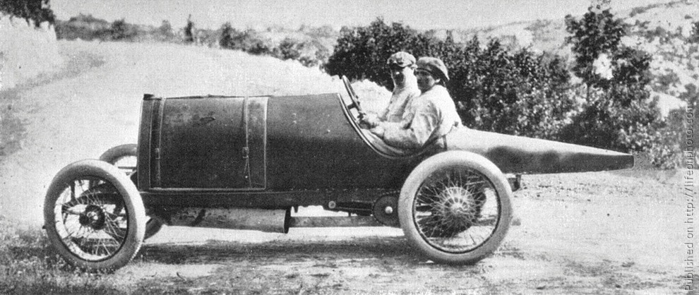 Автогонки конца 19-начала 20 веков