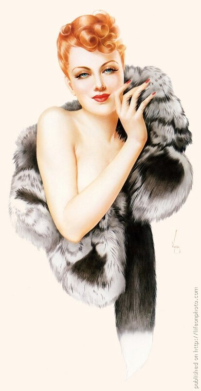 Pin-up Girls by Alberto Vargas