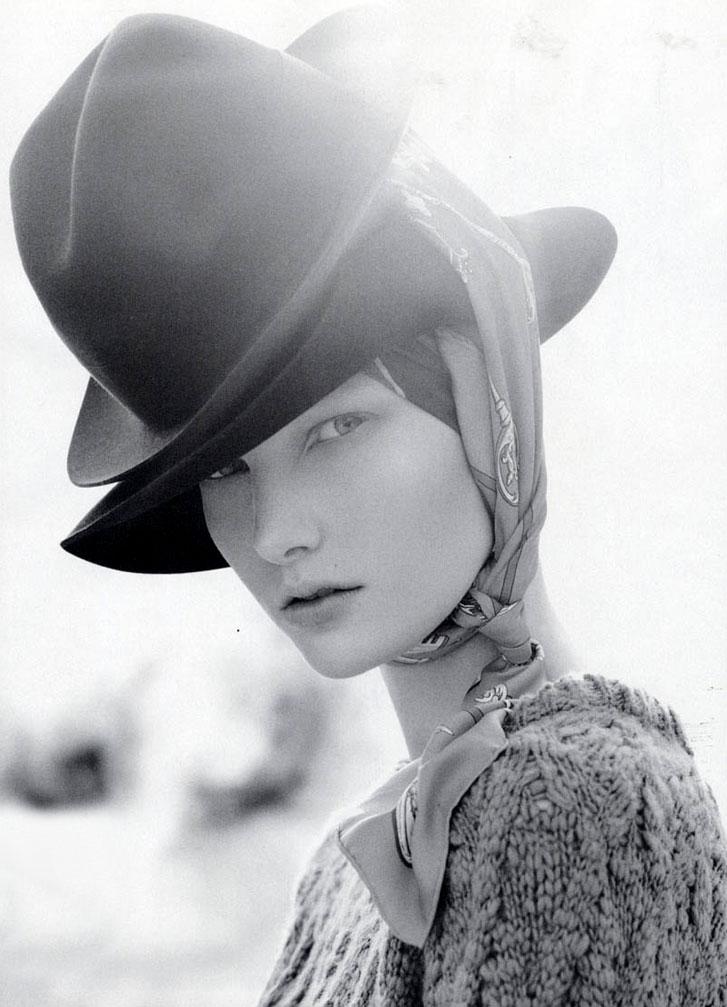 модель Илонка Верхеул / Ylonka Verheul, фотограф Emilio Tini