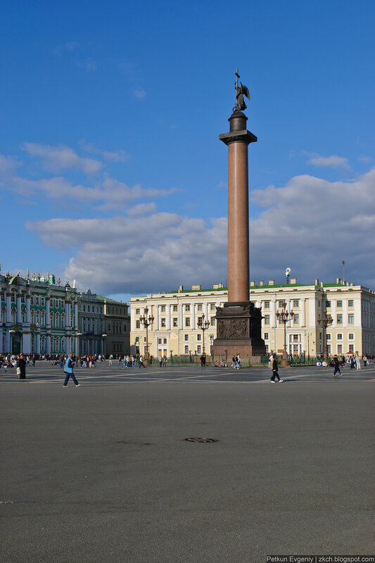 Автор: Петкун Евгений, блог Евгения Владимировича, фото, фотография: Александровская колонна.