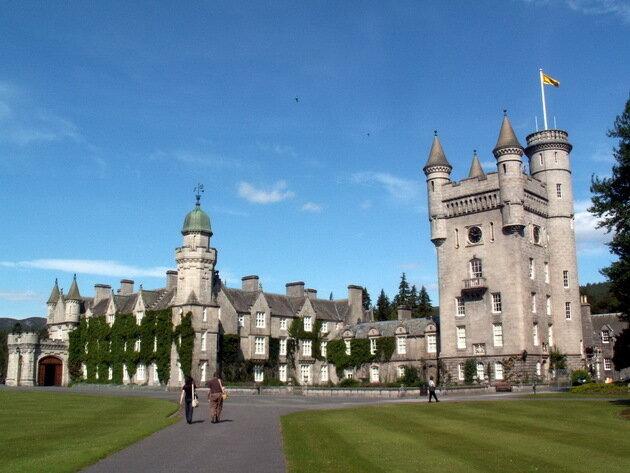 Замок Балморал. Шотландия