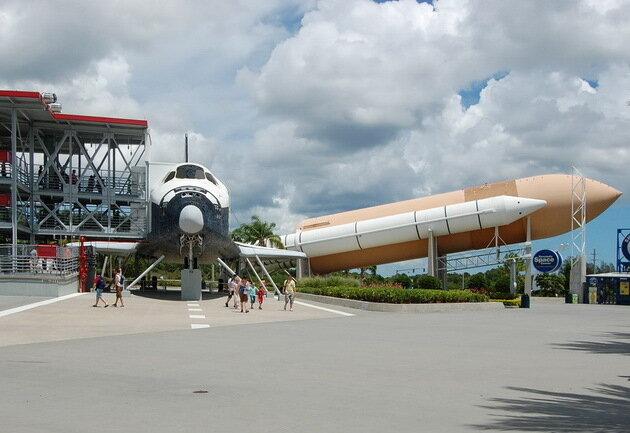 Космодром на мысе Канаверал. США