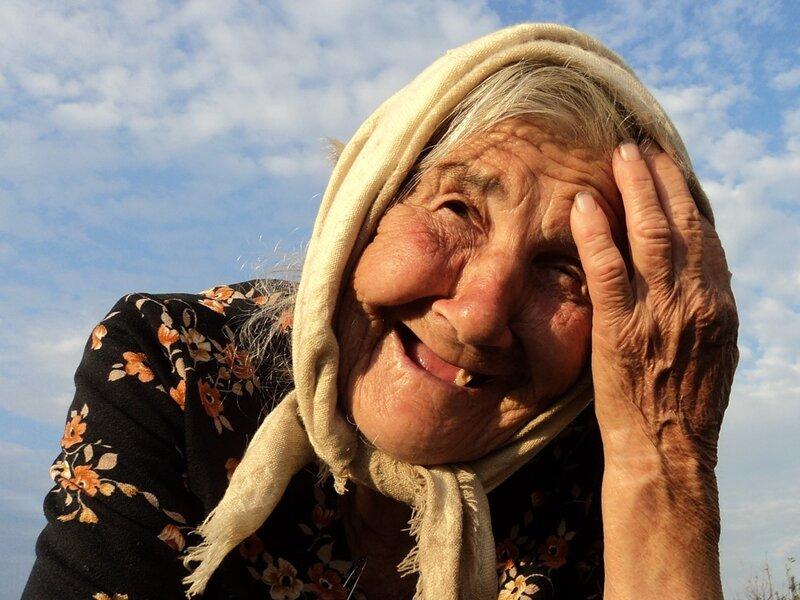 Бабушка Шура