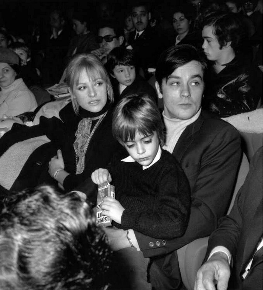 1969. С Натали и Энтони