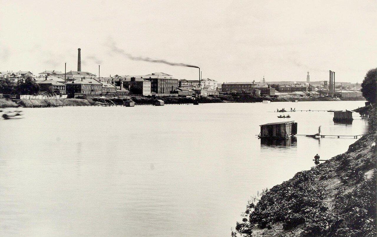 358. Вид из Доргомилова (ниже Бородинского моста)