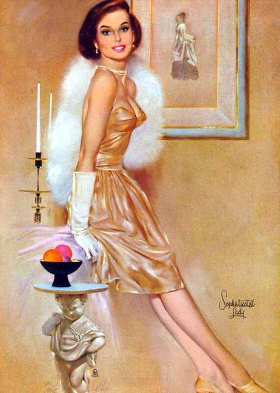 Фриц Уиллис, художник женского ...: anastgal.livejournal.com/1507623.html
