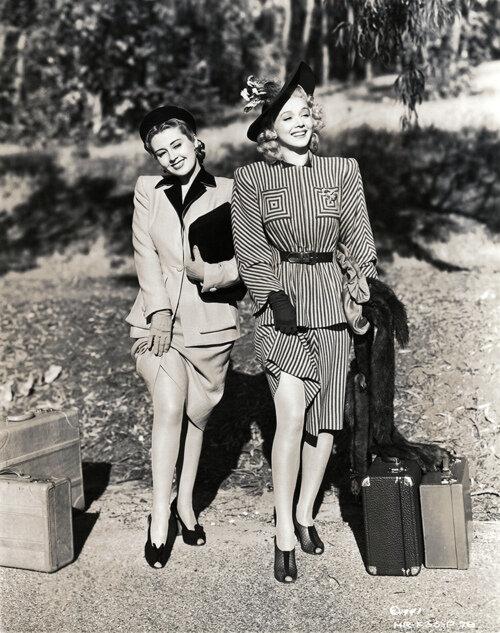 Joan Blondell & Carole Landis
