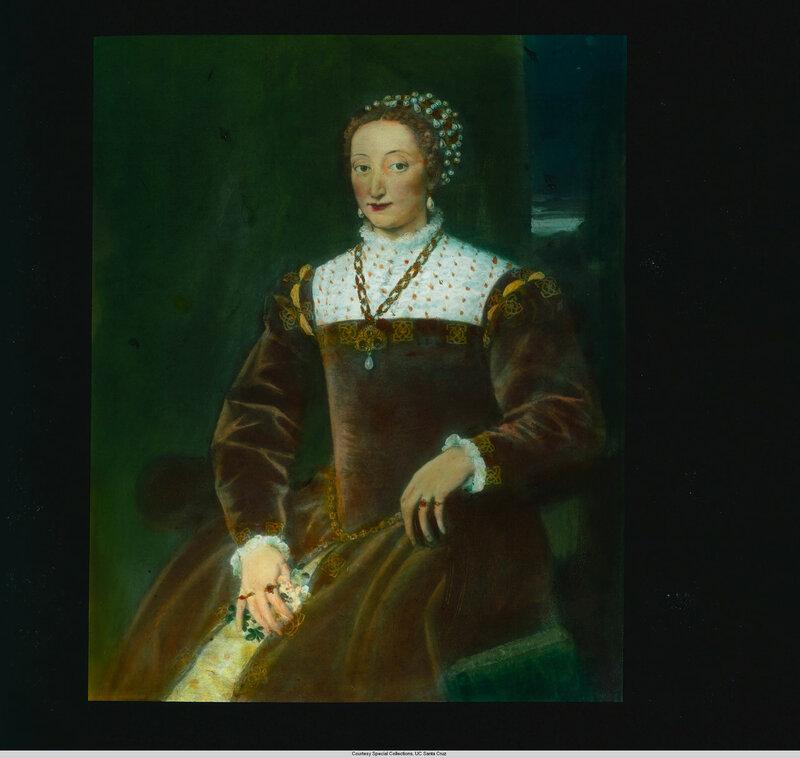 Florence. Palazzo Pitti: Portrait of Catherine de' Medici (?)