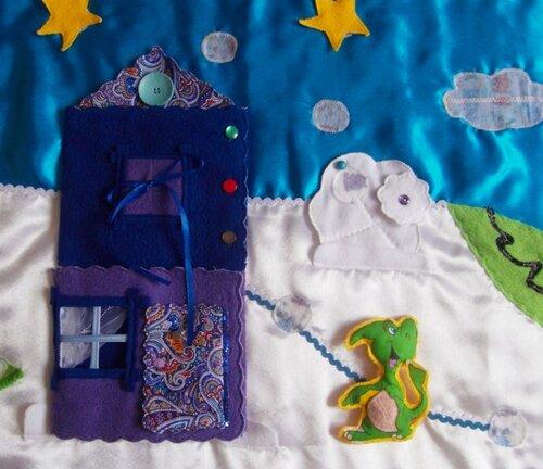 Развивающий коврик Семьландия... Волшебный игровой домик
