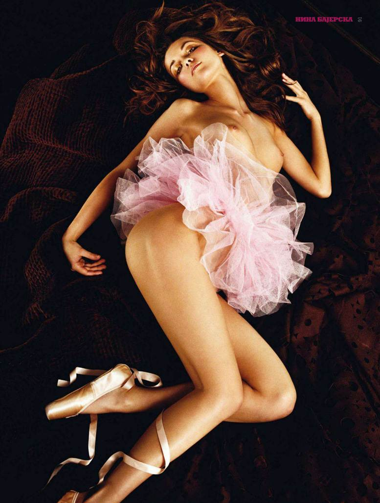 Nina Bajerska / балерина Нина Баджерска в журнале Playboy Сербия, сентябрь 2011